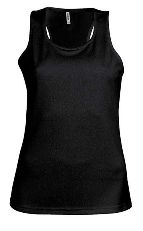 Čern dámské sportovní tričko