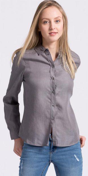 Dámská košile z imitace denimu