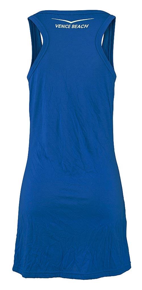 Modré letní šaty Venice Beach