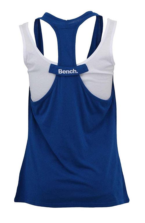 Modré-bílé dvouvrstvé tílko Bench Kinney