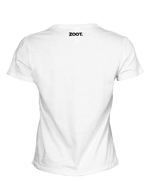 Bílé dámské tričko s krátkým rukávem