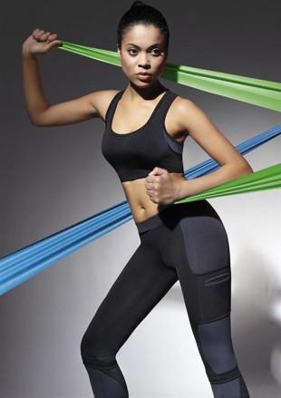 Sportovní termoaktivní dámský podprsenkový top