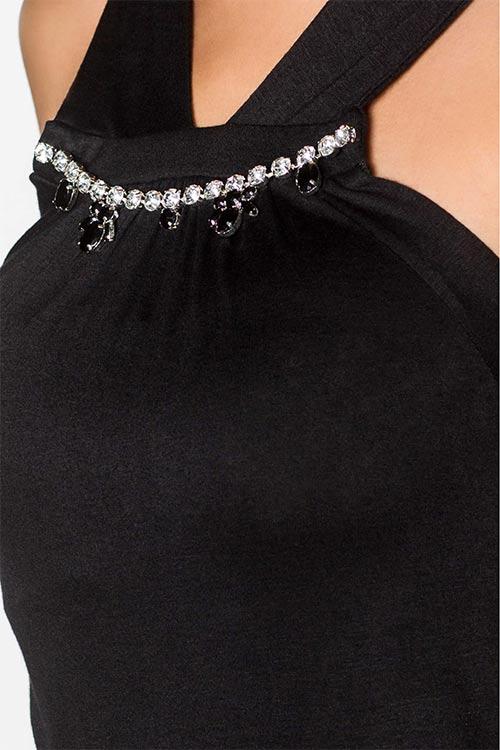 Dámský top s náhrdelníkem