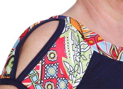 Průstřihy na ramenou