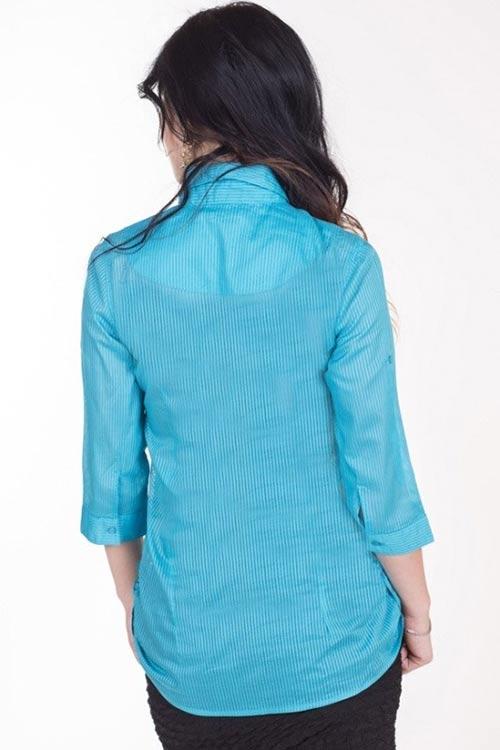 Světle modrá dámská košile
