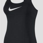 Černé fitness tílko Nike