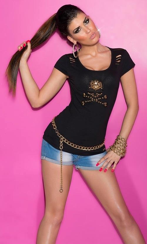 Pirátské dámské tričko