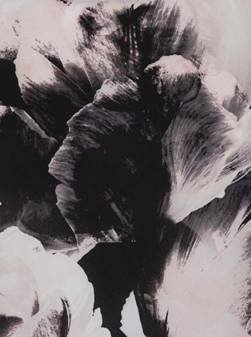 Květinový potisk