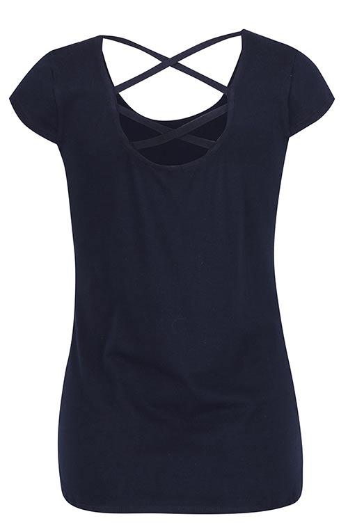 Dámské tričko s detailem na zádech