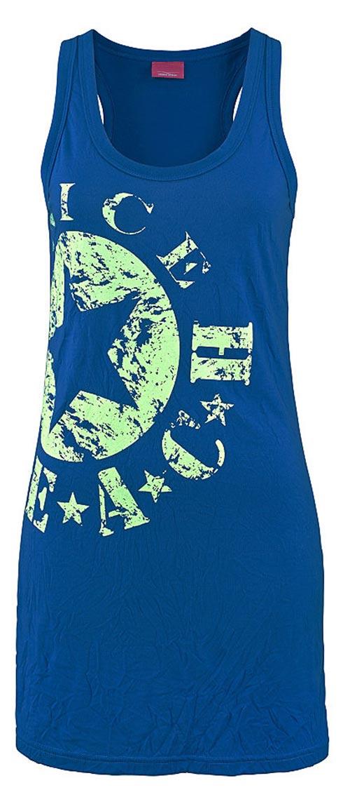 Plážové šaty pomačkaného vzhledu