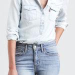 Džínová dámská košile LEVI'S