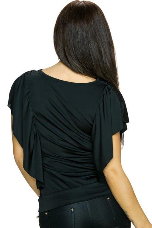 Nařasené dámské tričko