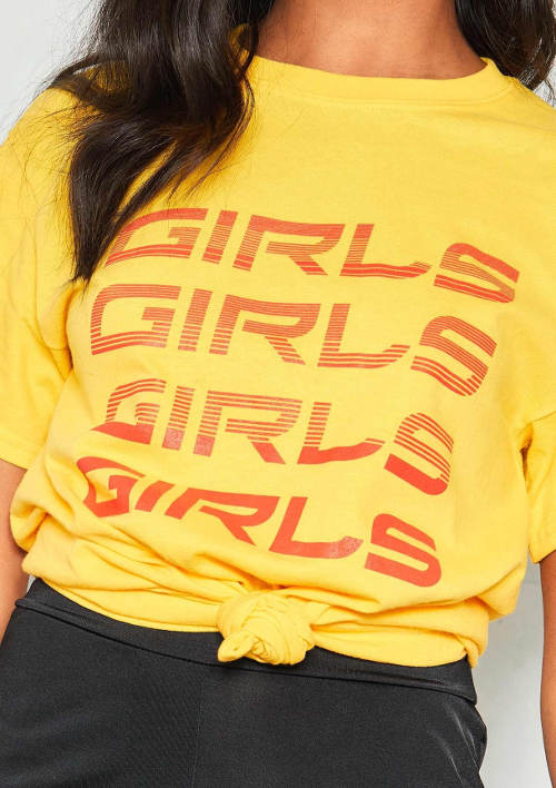Tričko Girls Girls Girls