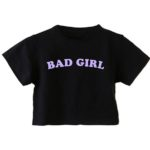 Basic crop top Bad Girl