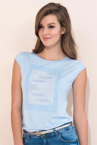 200f77f0b21 Dámské elegantní triko Scarlet Blue