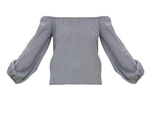 Pohodlný top s volnými rukávy