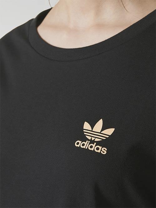 Černé dámské tričko Adidas Originals