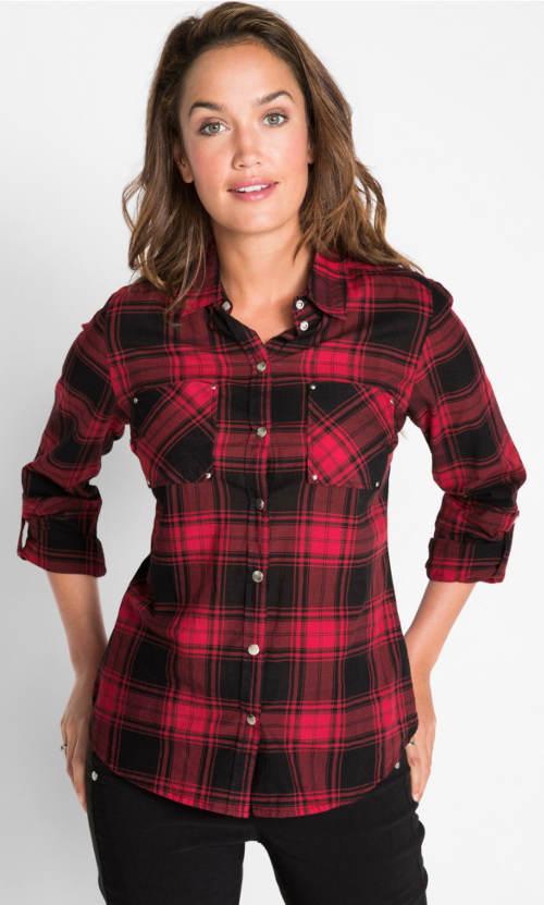 Dámská karovaná košile
