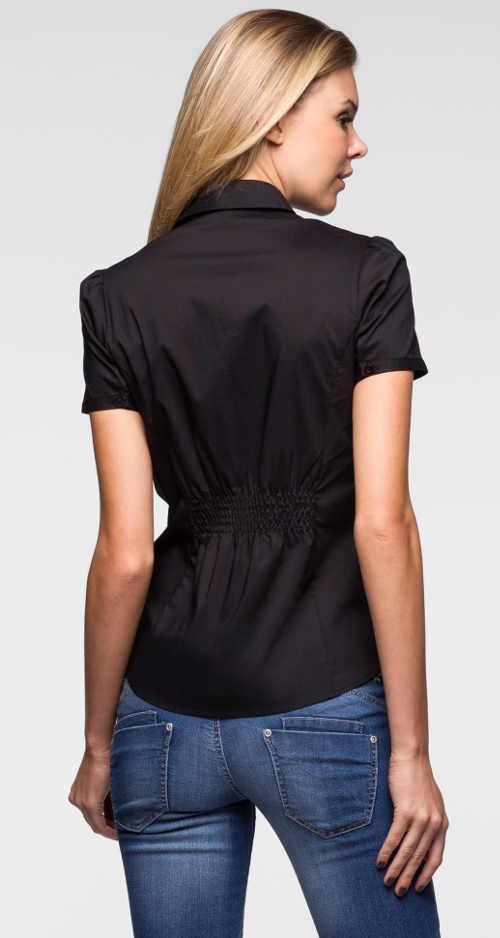 Lesklá dámská košile