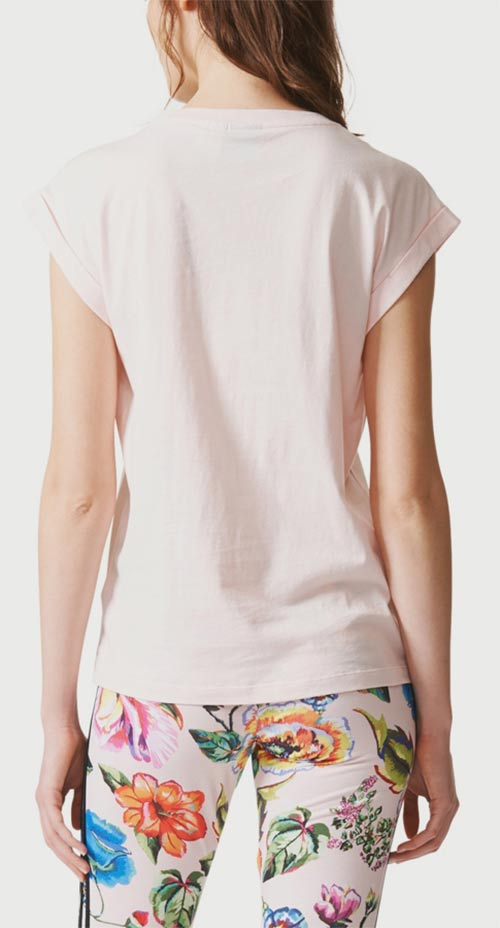 Světle růžové tričko Adidas
