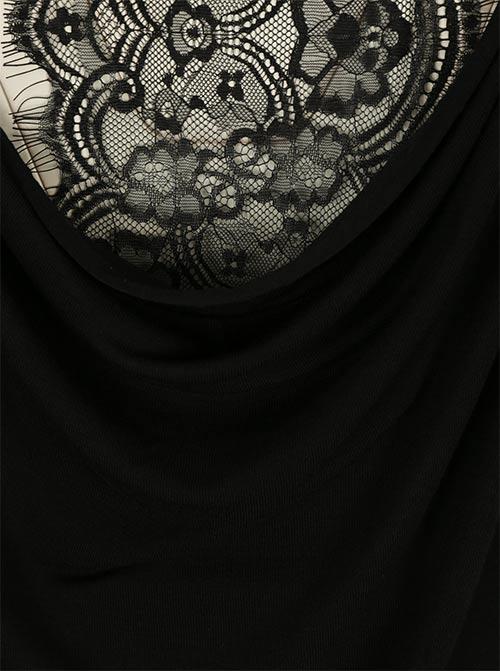 Černá luxusní krajka