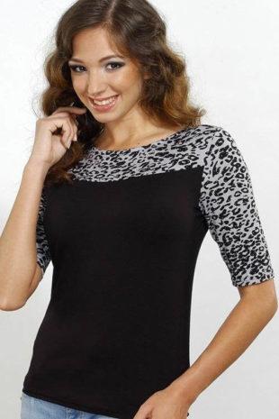 Leopardí dámská halenka