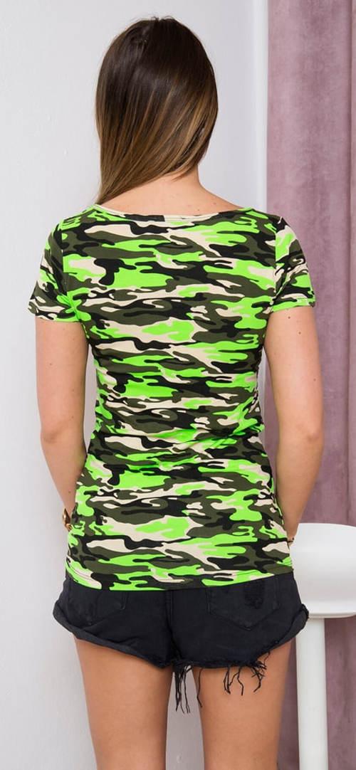 Dámské army tričko