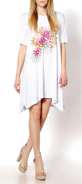 Dámské volné letní tunikové šaty
