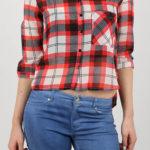 Karovaná dámská košile Alcott