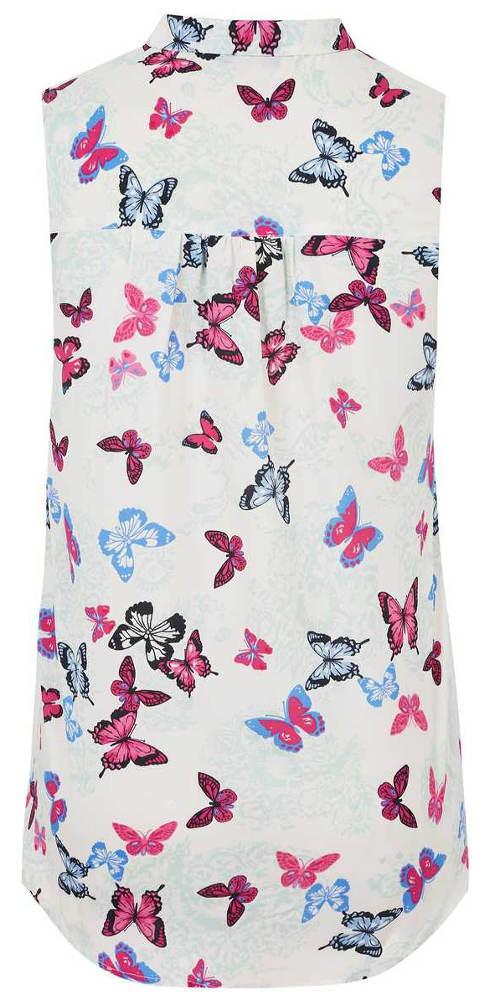 Dámská košile s potiskem motýlků