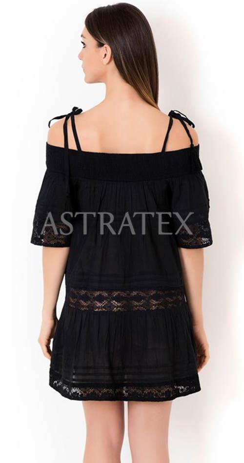 Italské letní šaty na tenká ramínka
