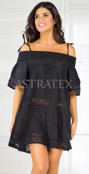 Romantické letní dámské šaty s krajkou