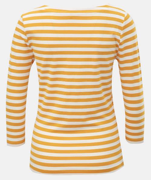 Žluté dámské námořnické tričko