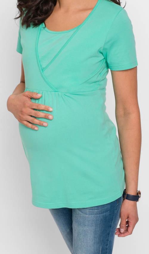 Levné těhotenské tričko