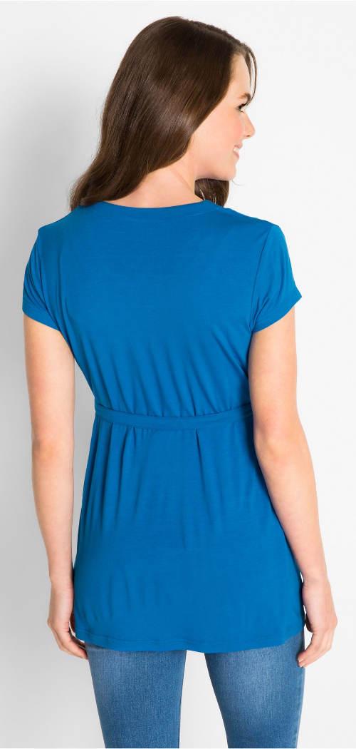 Modrá dámská tunika