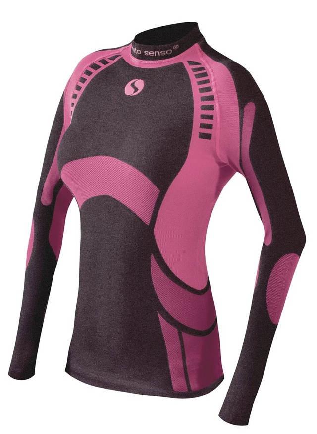 Růžové funkční dámské tričko