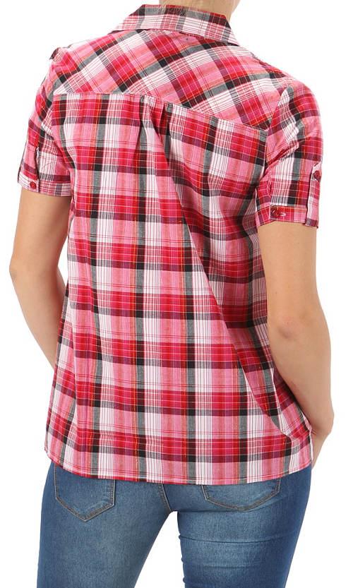 Kostkovaná dámská košile