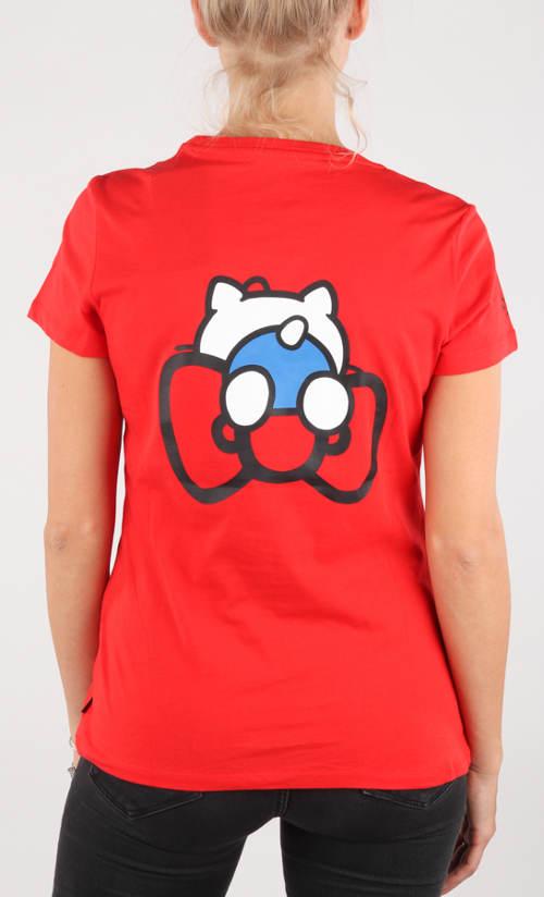 Dámské tričko s kočičkou