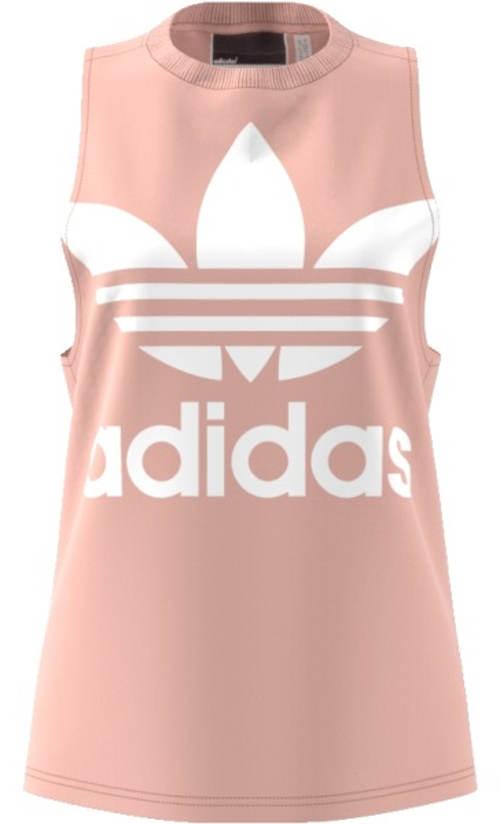 Růžové tílko Adidas s logem