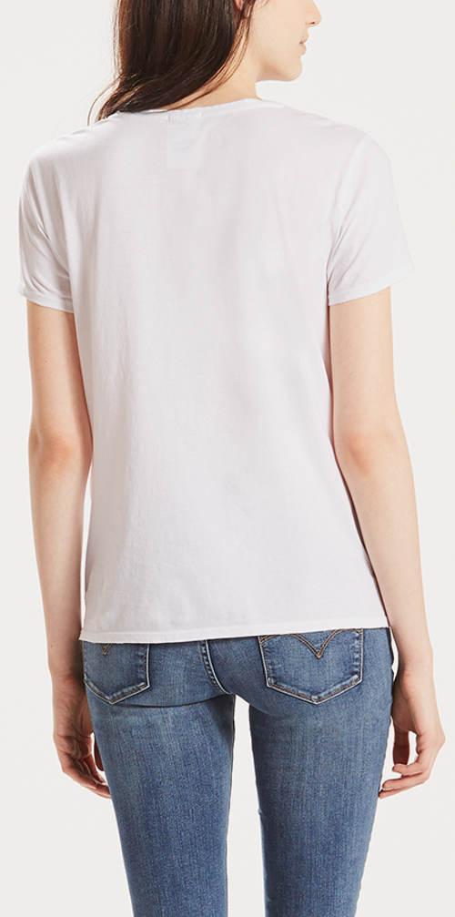 Bavlněné dámské tričko LEVI'S