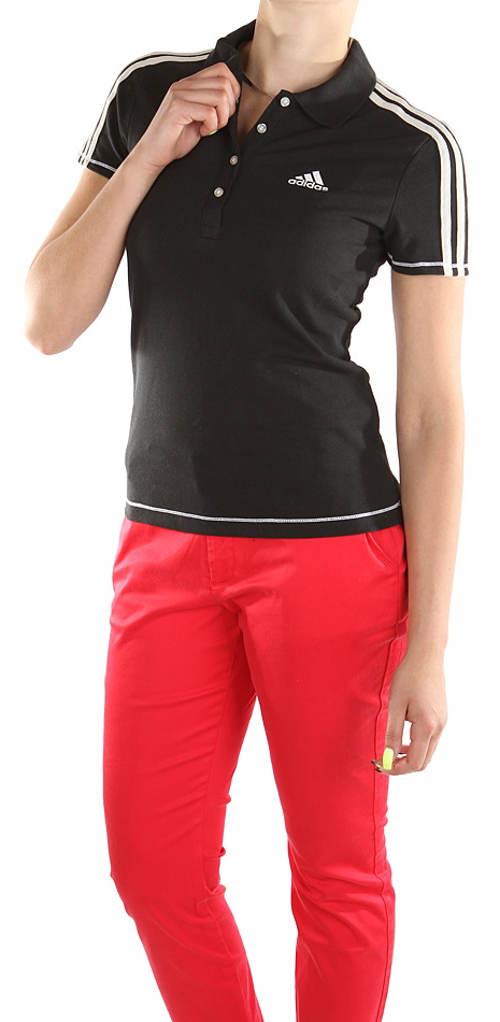 Dámská černá polokošile Adidas