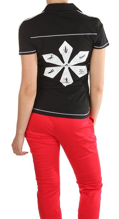 Dámské sportovní tričko s límečkem Adidas