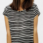 Dámské tričko s krátkým rukávem zebra