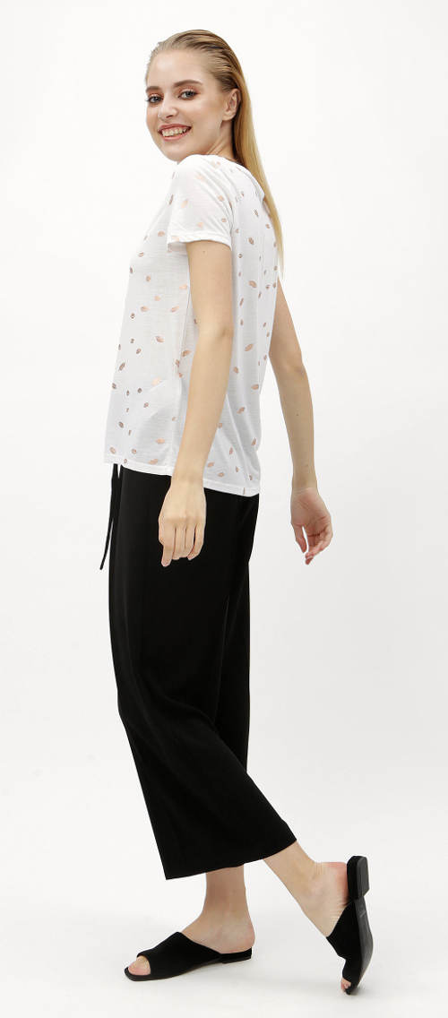 Volné bílé dámské tričko od Zootu