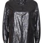 Lesklá černá dámská košile Pietro Filipi