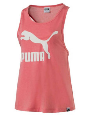 Růžové sportovní tílko Puma