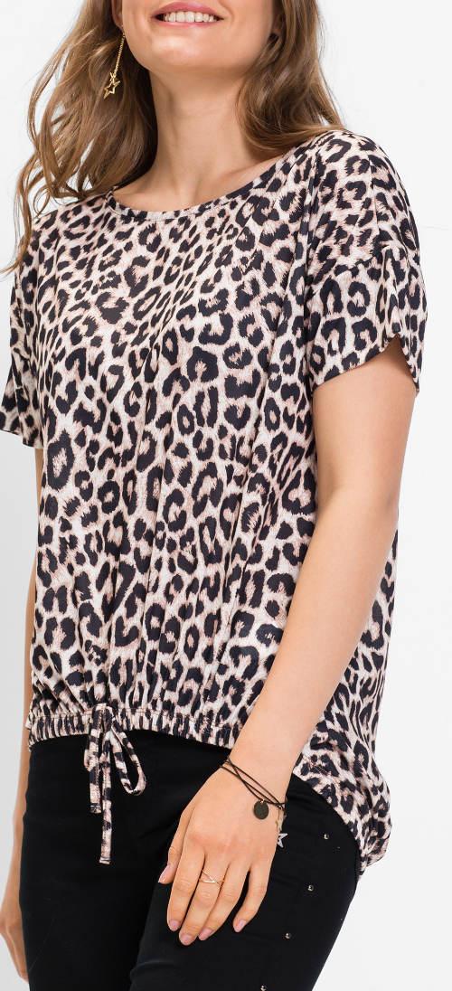 Animal halenka leopardí potisk