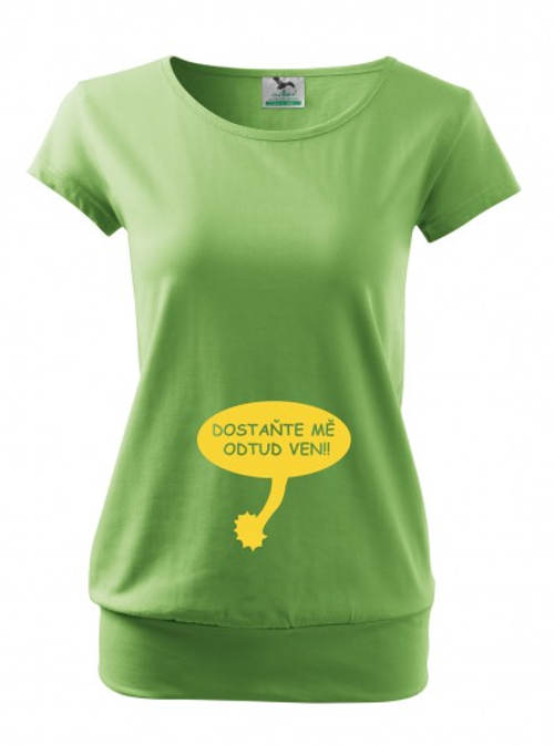 Těhotenské tričko