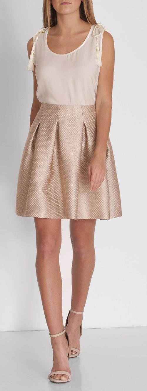 Výprodej bílá letní halenka k sukni