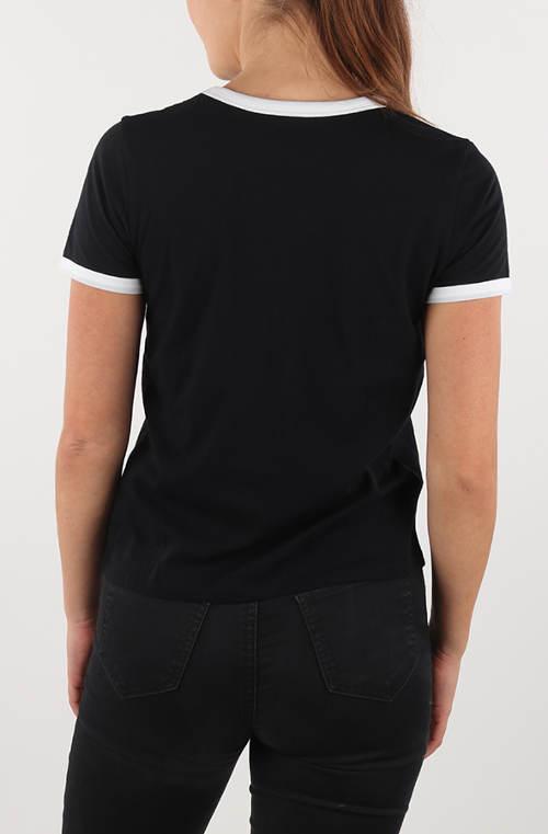 Černé dámské tričko Vans s krátkým rukávem